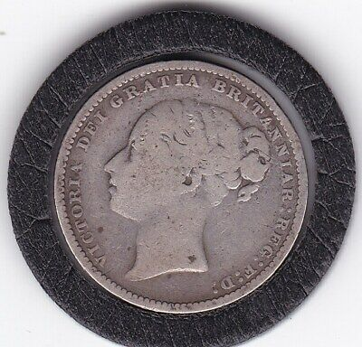 $5.50 • Buy 1883   Queen  Victoria  Sterling  Silver  Shilling  British Coin