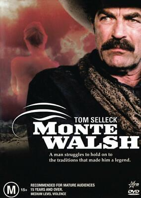 Monte Walsh - Tom Selleck - New & Sealed Region 4 Dvd Free Local Post • 7.32£