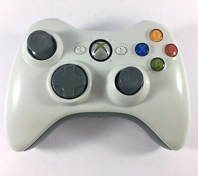 AU45.95 • Buy XBOX 360 Controller Official Genuine Wireless - White