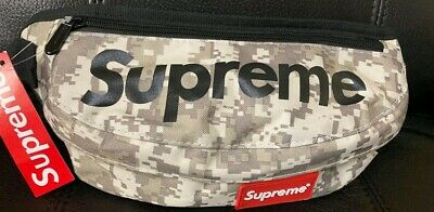 $ CDN30 • Buy Supreme Fanny Pack White Camo