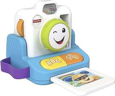 Fisher Price Laugh And Learn Instant Camera Pretend Play Baby Toy • 17.49£