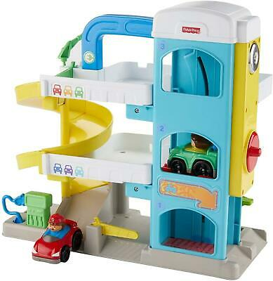 Fisher Price Little People Wheelies Garage Playset Pretend Play Toddler Toy • 25.49£