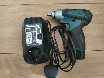 Makita TW100D 10.8v Lithium Ion Cordless Impact Wrench + Battery + Charger • 64.99£