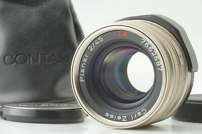 $399.90 • Buy 【TOP MINT W/ Case】 Contax Carl Zeiss Planar T* 45mm F/2 G Lens From Japan 284
