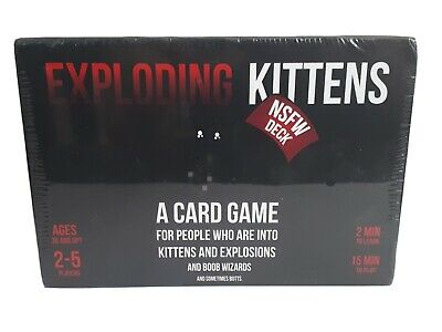 AU24.95 • Buy Exploding Kittens Card Game-Ages 30 Up - Brand New In Box -