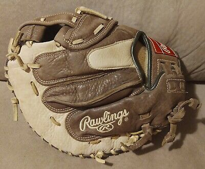 """$65 • Buy Rawlings Champion CCMFP 33"""" Fastpitch Softball Catchers Mitt Right Handed RHT"""