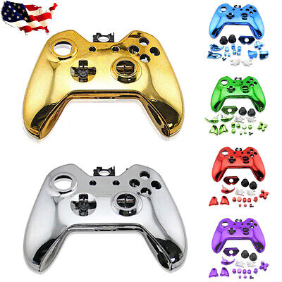 $17.95 • Buy Full Housing Shell Cover Bumper Buttons Custom Mod Kit For Xbox One Controller