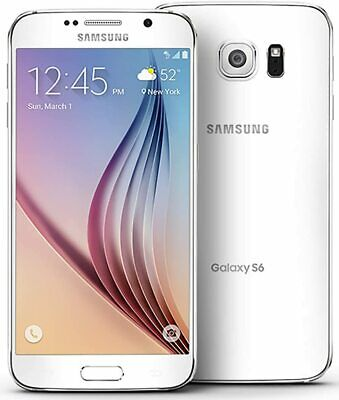 $ CDN136.19 • Buy EXCELLENT Samsung Galaxy S6 SM-G920T 32 GB White Pearl T-Mobile UNLOCKED Phone