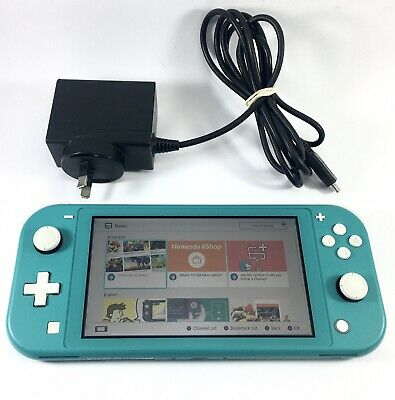 AU299.95 • Buy Nintendo SWITCH LITE Turquoise Console Handheld System