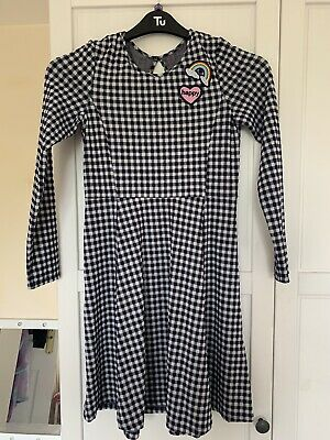 Girls Checked Dress Age 11-12  • 1.20£