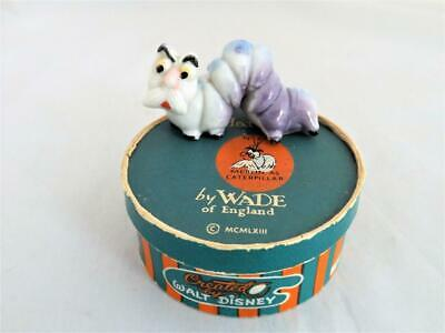 Wade Disney Hatbox Merlin As A Caterpillar With Sticker Boxed 1956-65  (Perfect) • 149.99£
