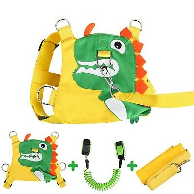 KWANITHINK Toddler Reins For Walking Dinosaur, 2 In 1 Kids Safety Harness + A... • 28.99£