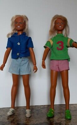 $14 • Buy VINTAGE  DUSTY   DOLLS (2) Marked1974 G.M.F.G.I. Kenner  12   With Extra Outfit.
