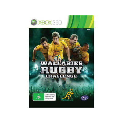 AU18 • Buy Wallabies Rugby Challenge Preowned - Xbox 360 - PREOWNED