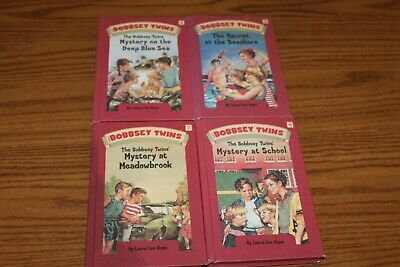 $5.99 • Buy 4 Bobbsey Twins Classic Edition Children Chapter Books Lot Mystery Hope