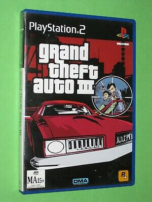 AU8.95 • Buy Grand Theft Auto III - PlayStation 2 Game - Australian PAL Version