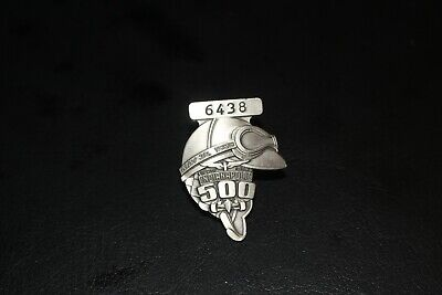 $11.59 • Buy 1999 Indy 500 Silver Pit Badge, #6438