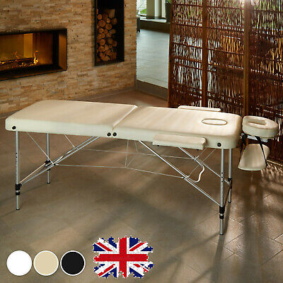 Cheap-Massage Table Spa Bed Portable Folding Beauty Salon Tattoo Therapy Couch✅✅ • 69.90£
