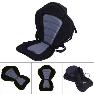AU25 • Buy Deluxe Padded Kayak For Seat With Detachable Back Bag Canoe Sit On Top Kayaking