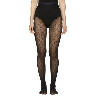 AU300 • Buy Gucci GG Jacquard Stockings Size Small