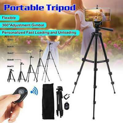 Universal Mobile Phone Tripod Stand Grip Holder Mount For Cameras Phones Travel • 6.99£