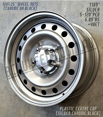 AU319.99 • Buy 17  X 9  Silver Interceptor Steel Wheels Holden Commodore Ute Vu Vy Vz Ve Drag