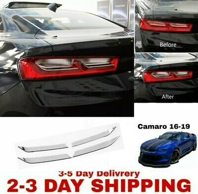 $39.99 • Buy Chevrolet Camaro  2016 2017 2018  Tail Light Bezel Accent Trim RS SS ZL1 1LE V8