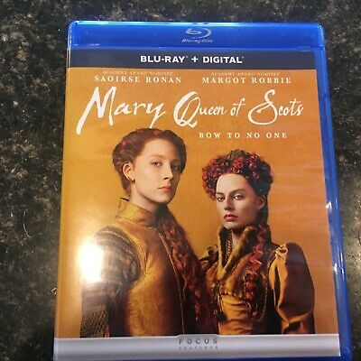 $8 • Buy Mary Queen Of Scots (Blu-ray Disc, 2019, Includes Digital Copy)