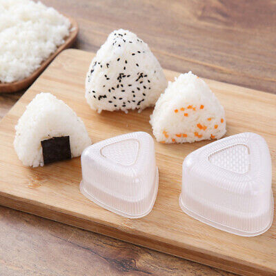 Onigiri Musubi Triangle DIY Tools Triangle Rice Mould Sushi Molds Rice Mold • 2.55£