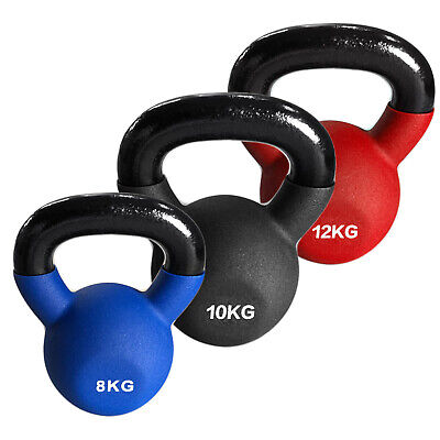 AU64.34 • Buy Commercial Grade Iron Kettlebell Weights Premium Quality Neoprene Rubber Coated