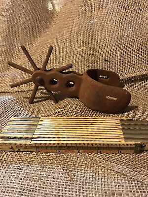 $22 • Buy Vintage Single Spur Heavy One Only Iron