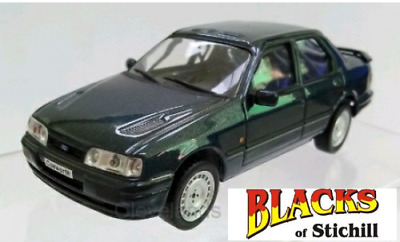 White Box 1:43 Scale 1990 Ford Sierra Sapphire RS Cosworth 4x4 Grey Model Car • 29.99£