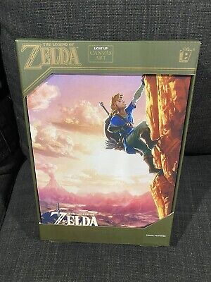 AU10 • Buy The Legend Of Zelda Breath Of The Wild Canvas Wall Light