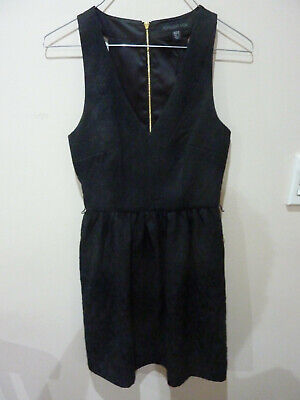 AU5 • Buy Forever New Black Dress Size AUS 6  EUR 34 USA 2 Fully Lined