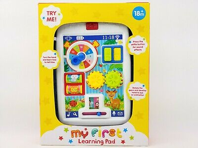 £12.49 • Buy Baby My First Learning Pad With Sounds 18+ Months