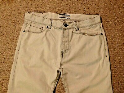 AU8 • Buy Pull And Bear Jeans Size EUR 46/AU 36 - Pale Blue - Excellent / As New Condition