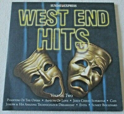£1.50 • Buy West End Hits Volume Two ~ Sunday Express Promo Cd