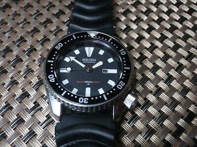 $ CDN175 • Buy Vintage Seiko Diver Mid Size Watch Automatic 4205 015B WR To 150M 092351 Date