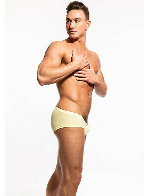 $ CDN53.53 • Buy N2N Bodywear Men Yellow Basic Rayon Trunk Underwear Size S  XL