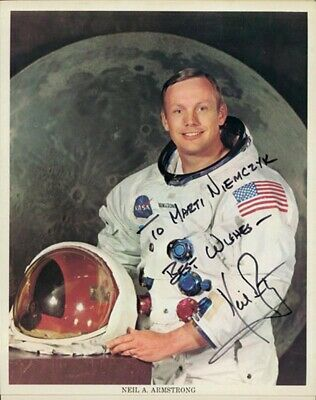 $1980 • Buy Neil Armstrong - Inscribed Printed Photograph Signed In Ink