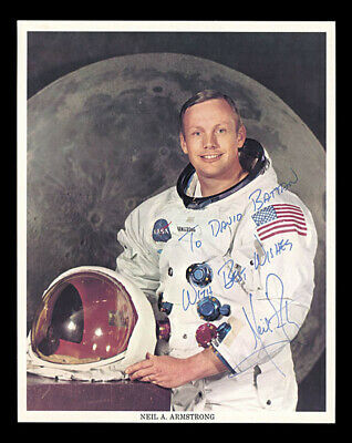 $1800 • Buy Neil Armstrong - Inscribed Printed Photograph Signed In Ink