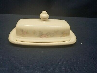 $8.99 • Buy Vintage Pfaltzgraff Wyndham Quarter Pound Butter Dish And Lid With Handle