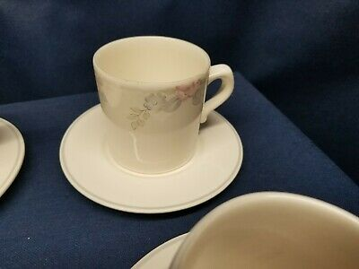$12.99 • Buy Pfaltzgraff  WYNDHAM  Cups And Saucers 7 Sets Plus 1 Extra Cup. Retired Pattern