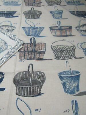 Unused French Basket Tablecloth   2 Placemats Macassar Collection • 24£