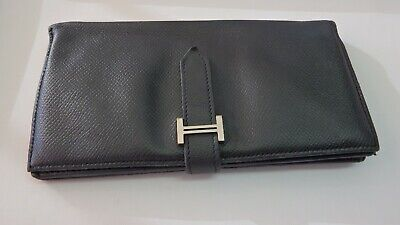 AU499 • Buy Hermes Paris Bearn Wallet - Black