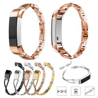 $ CDN13.12 • Buy Woman Stainless Steel Bracelet Band Strap For Fitbit Alta/Fitbit Alta HR Watch