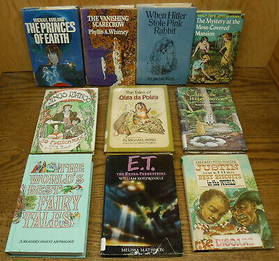 $14.95 • Buy 10 Vintage 1970's & 1980's Childrens Chapter BOOKS Hardcover Lot Classic Stories