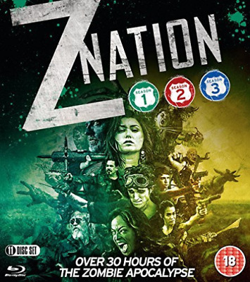 AU25.92 • Buy Z Nation Seasons 1 3 Blu Ray DVD NEW