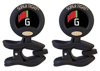 $ CDN52.21 • Buy Snark Tuner TWO PACK ST-8 Super Tight All Instrument Tuner W Metronome