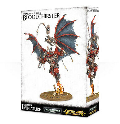 AU169.99 • Buy Warhammer - NEW - Daemons Of Khorne: Bloodthirster - FREE SHIPPING!